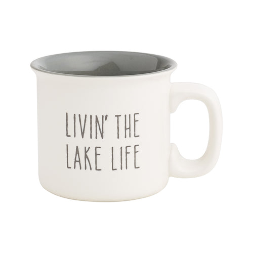 Livin' Lake Engraved Mug