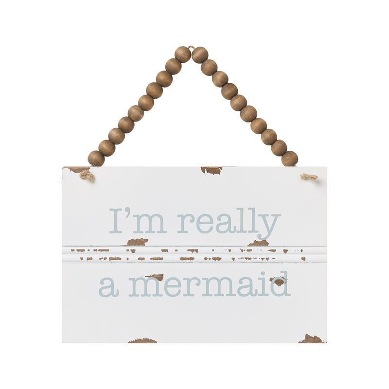 Really Mermaid Trim Sign