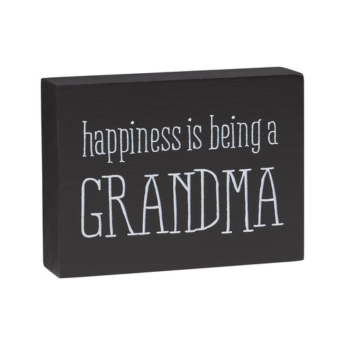 Happiness Gma Block Sign