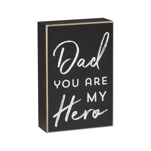 My Hero Box Sign