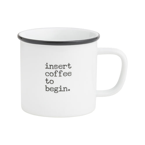 Insert Coffee Camp Mug