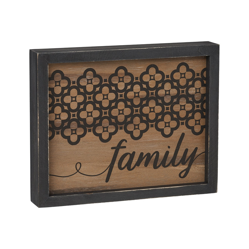 Family Pattern Sign