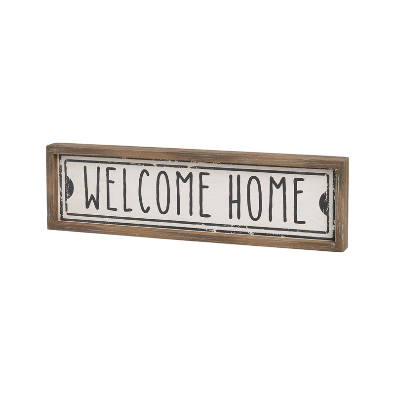 Welcome Wood Street Sign