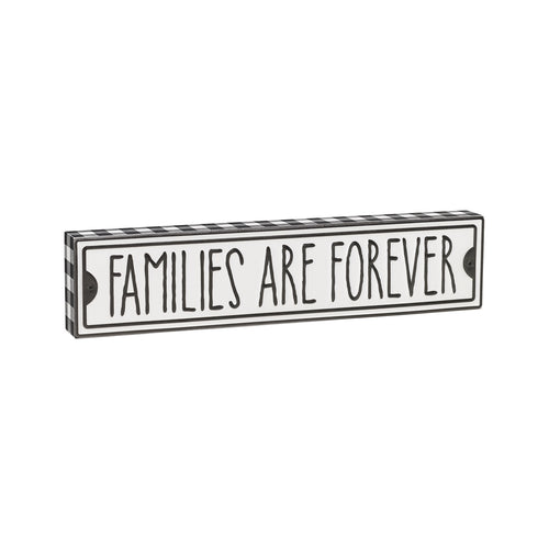 Families Forever Street Box Sign