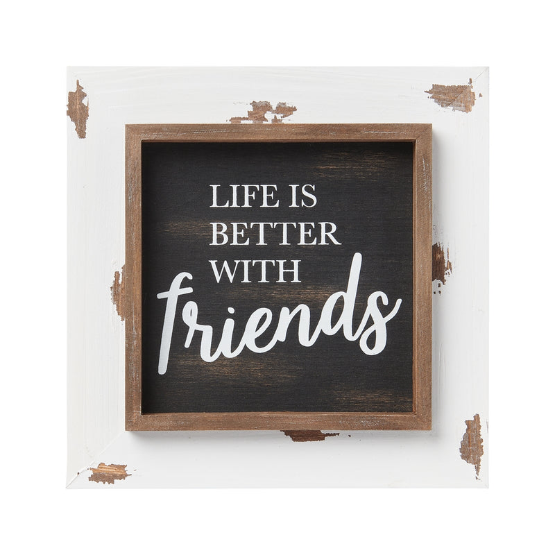 Friends Layered Frame Sign