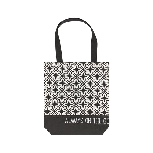 On The Go Canvas Tote