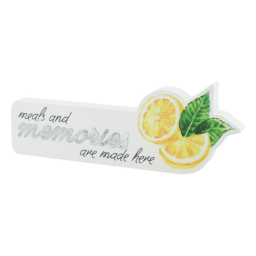 Memories Lemon Cutout