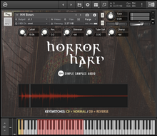 Load image into Gallery viewer, Horror Harp