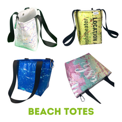 Beach Tote Product Line Upcycle Hawaii