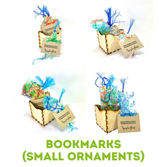 Bookmark Ornament Product Line Upcycle Hawaii