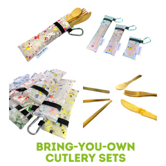 Bring Your Own Cutlery Set Product Line Upcycle Hawaii