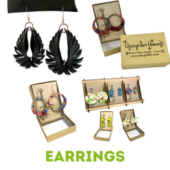 Upcycle Hawaii Shop By Product Earrings