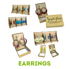 Earrings Product Line Upcycle Hawaii