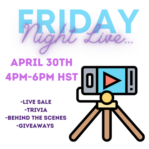 Upcycle Hawaii Friday Night Live Event Information