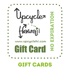 Gift Cards Upcycle Hawaii