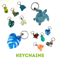 Keychain Product Line Upcycle Hawaii