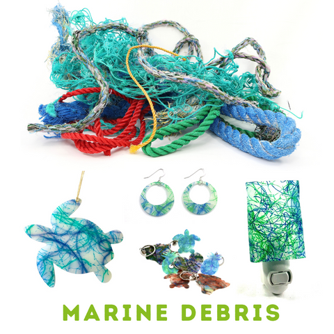 Upcycle Hawaii Melted Marine Debris Products Upcycled Reclaimed