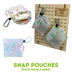 Snap Pouch Product Line Upcycle Hawaii