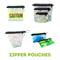 Zipper Pouch Product Line Upcycle Hawaii