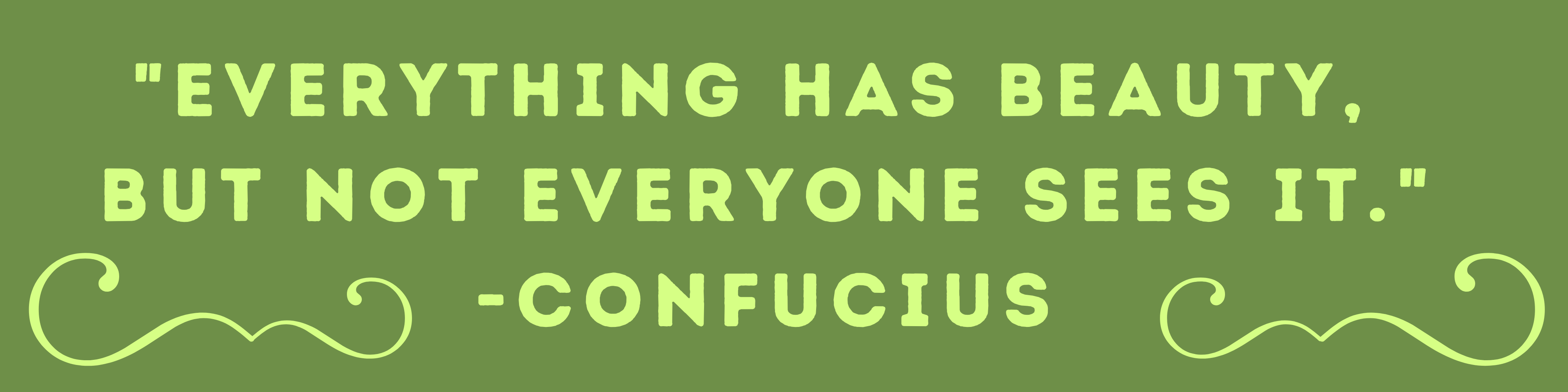 Upcycle Hawaii Confucius Quote