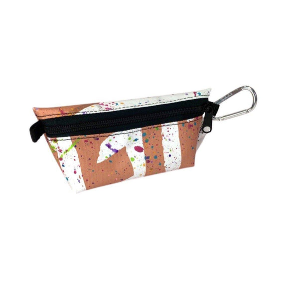 **Limited Release** Banner Zipper Pouch, Small Boxed: