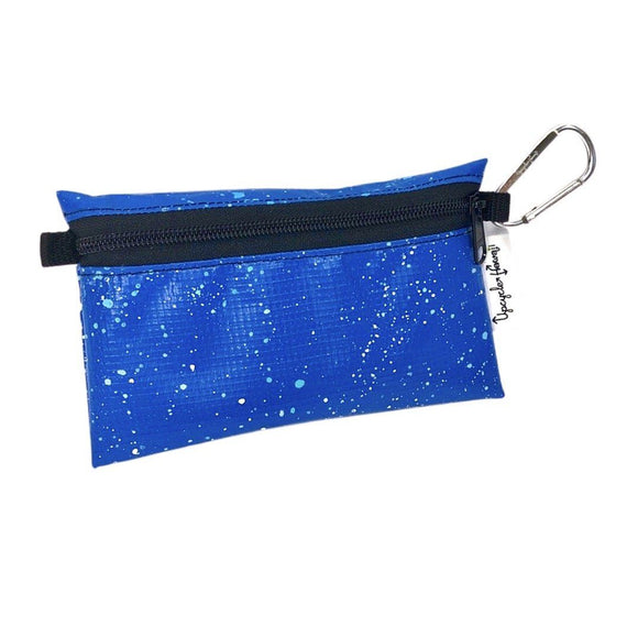 **Limited Release** Banner Zipper Pouch, Small Flat: