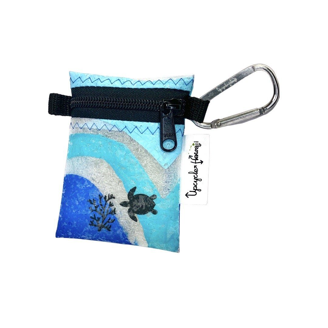 Upcycled Plastic Zipper Pouch