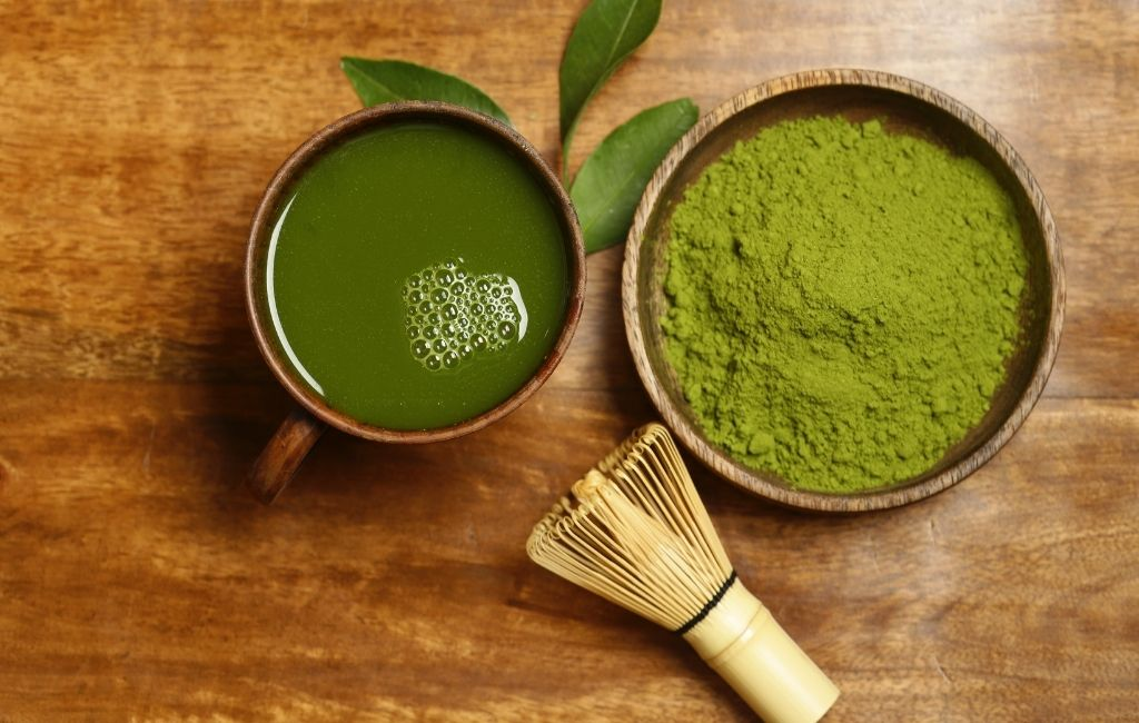 Matcha is a favourite ingredient among beauty experts, known for its versatility in both skincare and haircare.