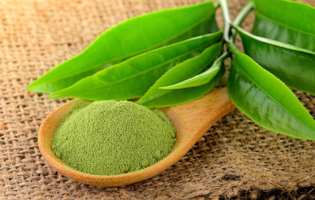 Matcha green tea is great for your skin as it keeps it hydrated, targets acne and helps reduce inflammation