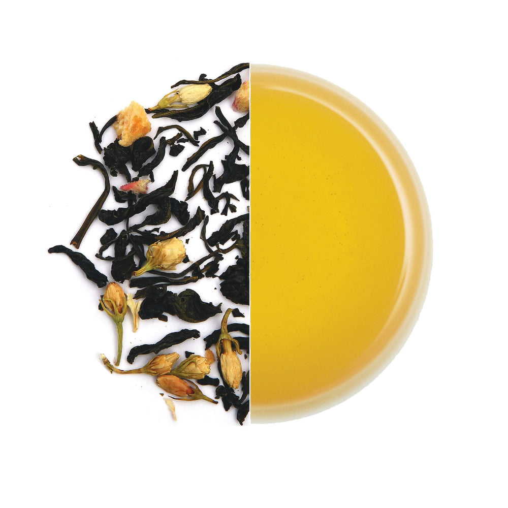 Green tea with Peach and Jasmine