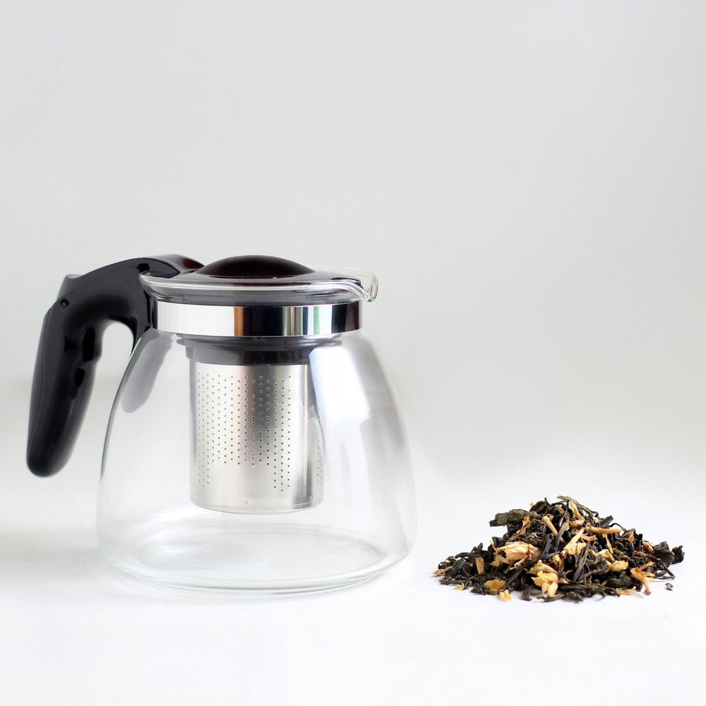 Glass Teapot with Infuser - 900ml - Karma Kettle