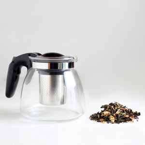 Load image into Gallery viewer, Glass Teapot with Infuser - 900ml - Karma Kettle
