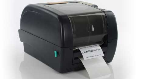LabelStation Pro label printer with peel and present