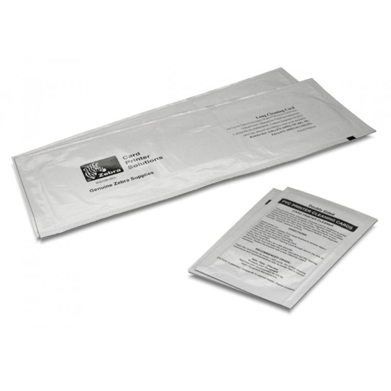 105999-310 - Zebra Cleaning Card Kit Zc100-300 2 Cards