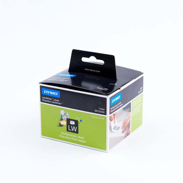 Dymo S0722540 11354 Multi Purpose Labels 57mm x 32mm