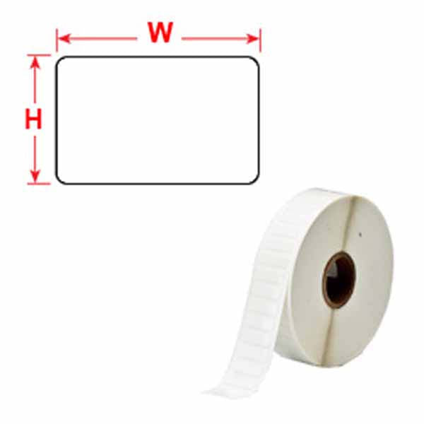 Brady THT-17-498-1.5-SC Vinyl Cloth Thermal Transfer Labels 50.8mm x 25.40mm