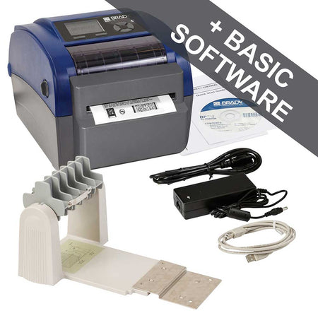 Brady BBP12 Label Printer with Cutter, Unwinder and Workstation PWID Suite - 198599
