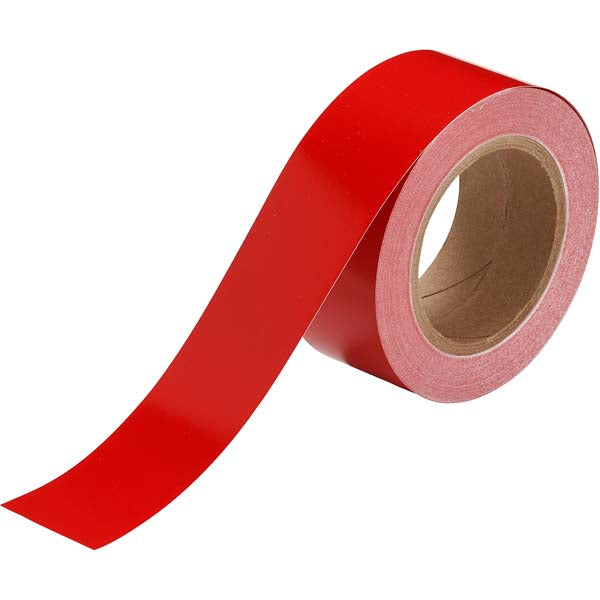 275214 Brady Red Pipe Banding Tape