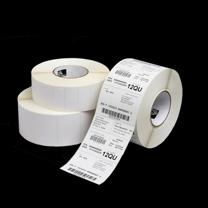 3008870-T - Zebra Z-Perform 1000D Direct Thermal Paper Labels For Portable Printers 101.6mm x 50.8mm