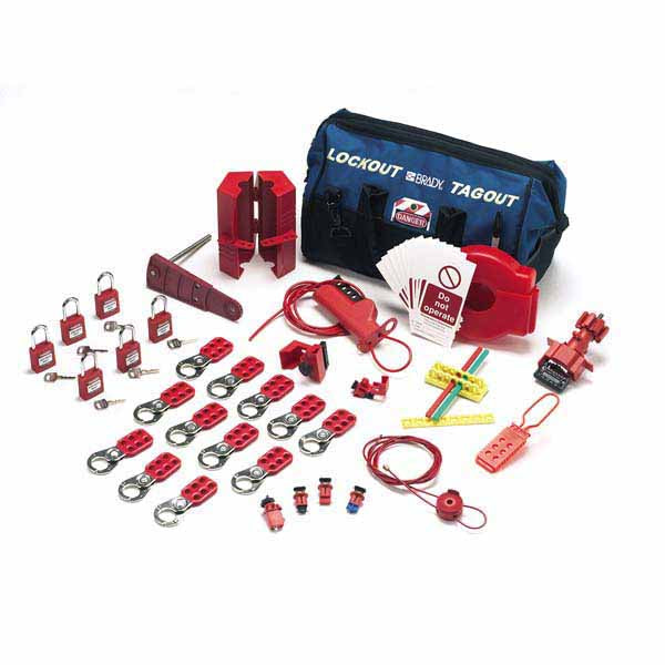 806174 Brady Valve and Electrical Lockout Kit