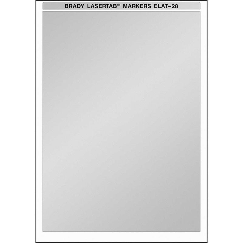 Brady ELAT-28-773 - Laser Printer Labels 210 x 297mm - Labelzone