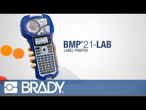 139538 Brady BMP21-LAB Printer - Labelzone