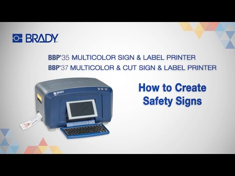 Brady BBP37 Multicolour Sign and Label Printer - 145995 - Labelzone
