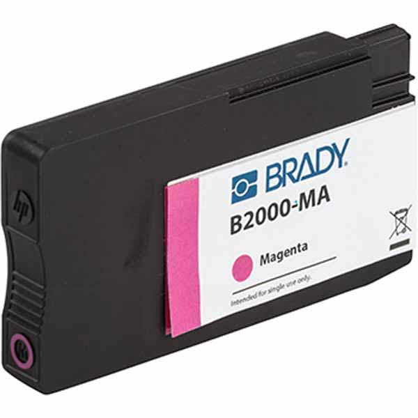 BradyJet J5000 Magenta Ink Cartridge J50-MA - 148762