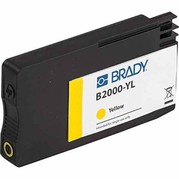 BradyJet J5000 Yellow Ink Cartridge J50-YL - 148764