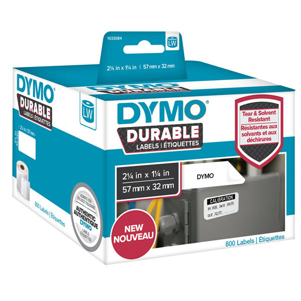 Dymo 1933084 Durable medium multi-purpose 57mm x 32mm
