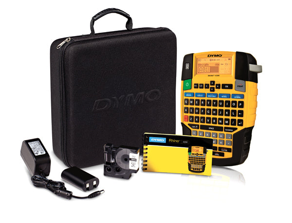 Dymo Rhino 4200 Kit Hand Held Label Printer - 1852992 - Labelzone