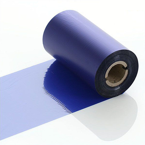 110mm wide - Q-R110BUI - Blue Industrial Ribbon - Labelzone