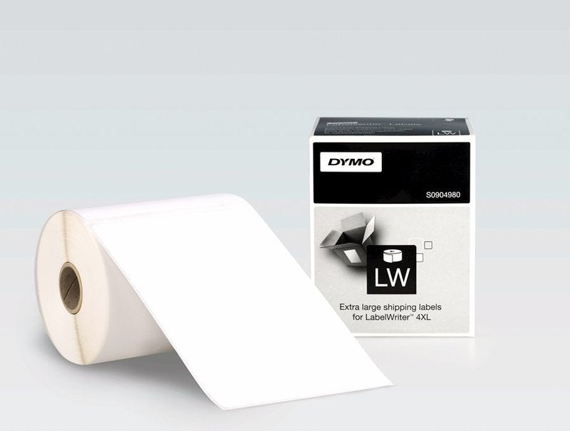 S0904980 - Extra Large Shipping Labels for Dymo 4XL - Labelzone