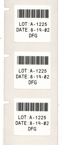 X-97-488 - B-488 Chemical Resistant Lab Polyester STANDARD Slide Label - Labelzone